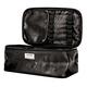 Black Croc Zipper Case