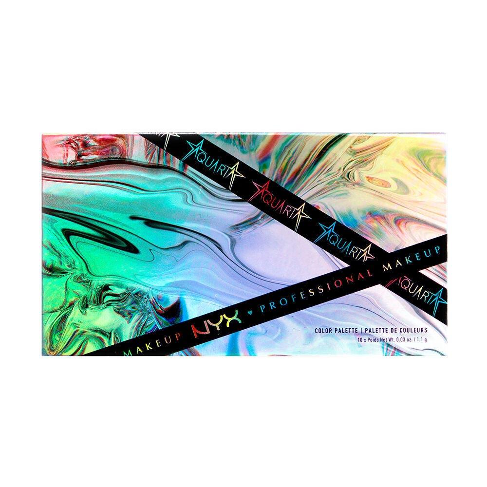 Aquaria x NYX Professional Makeup Color Palette close